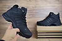 Adidas Climaproof высокие кроссовки адидас зимние мужские черные