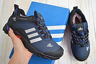 Adidas Climaproof синие адидас сапоги кроссовки зимние мужские