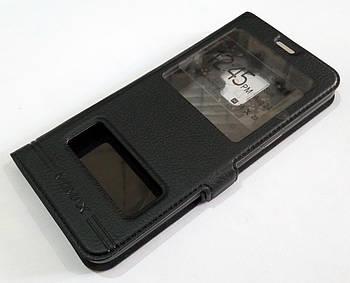Чехол книжка с окошками momax для Samsung Galaxy S9 G960 черный