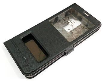 Чехол книжка с окошками momax для Samsung Galaxy S9 Plus G965 черный