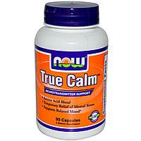 True Calm (Тру Калм) Истинное спокойствие 90 капс, успокоительное, снотворное, от стресса Now Fo