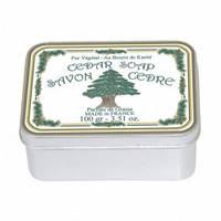 Натуральное мыло в жестяной упаковке Le Blanc Кедр 100 г 97412, КОД: 1089779
