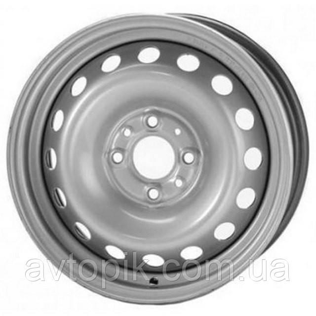 Стальные диски Steel Trebl R15 W6 PCD4x100 ET48 DIA54.1 (silver)