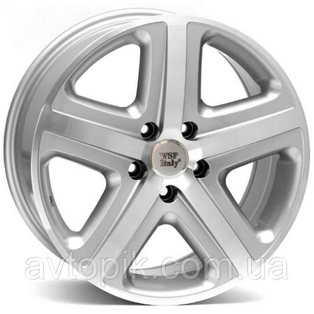 Литые диски WSP Italy Volkswagen (W440) Albanella R18 W8 PCD5x130 ET45 DIA71.6 (silver)