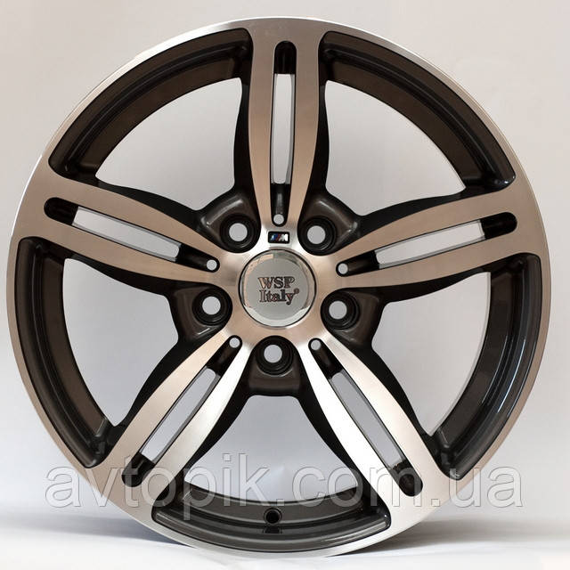 Литые диски WSP Italy BMW (W652) Agropoli R17 W8 PCD5x120 ET15 DIA72.6 (anthracite polished)