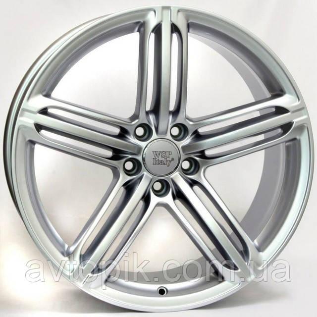 Литые диски WSP Italy Audi (W560) Pompei R20 W9 PCD5x112 ET29 DIA66.6 (silver)