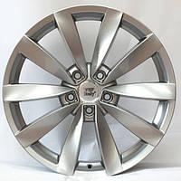 Литые диски WSP Italy Volkswagen (W457) Rostock R18 W8 PCD5x112 ET40 DIA57.1 (silver)