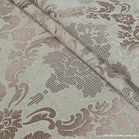 Комплект штор Dimout Venzel Gakkard Св.Беж-Розовый-Красное дерево, арт. MG-137966, Тесьма, Петли, Блекаут, 275*145 см