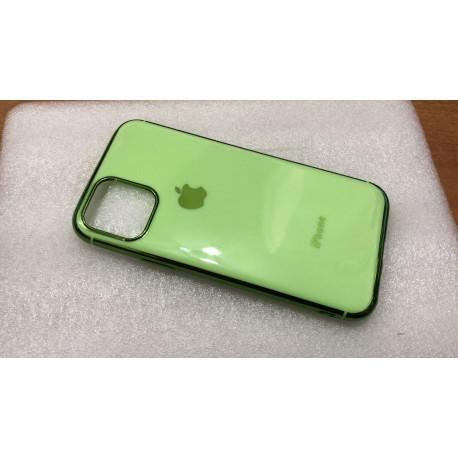 Силиконовый чехол Apple на iPhone 11 Pro Зеленый