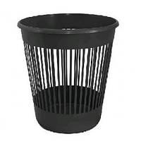 Корзина д / бумаг DELTA 4018-01 пластик. круглая ЧЕРНАЯ 10л (1/25)