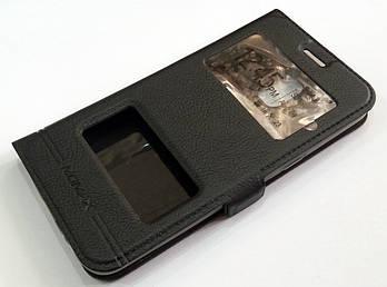 Чехол книжка с окошками momax для Samsung Galaxy J2 Core J260 черный