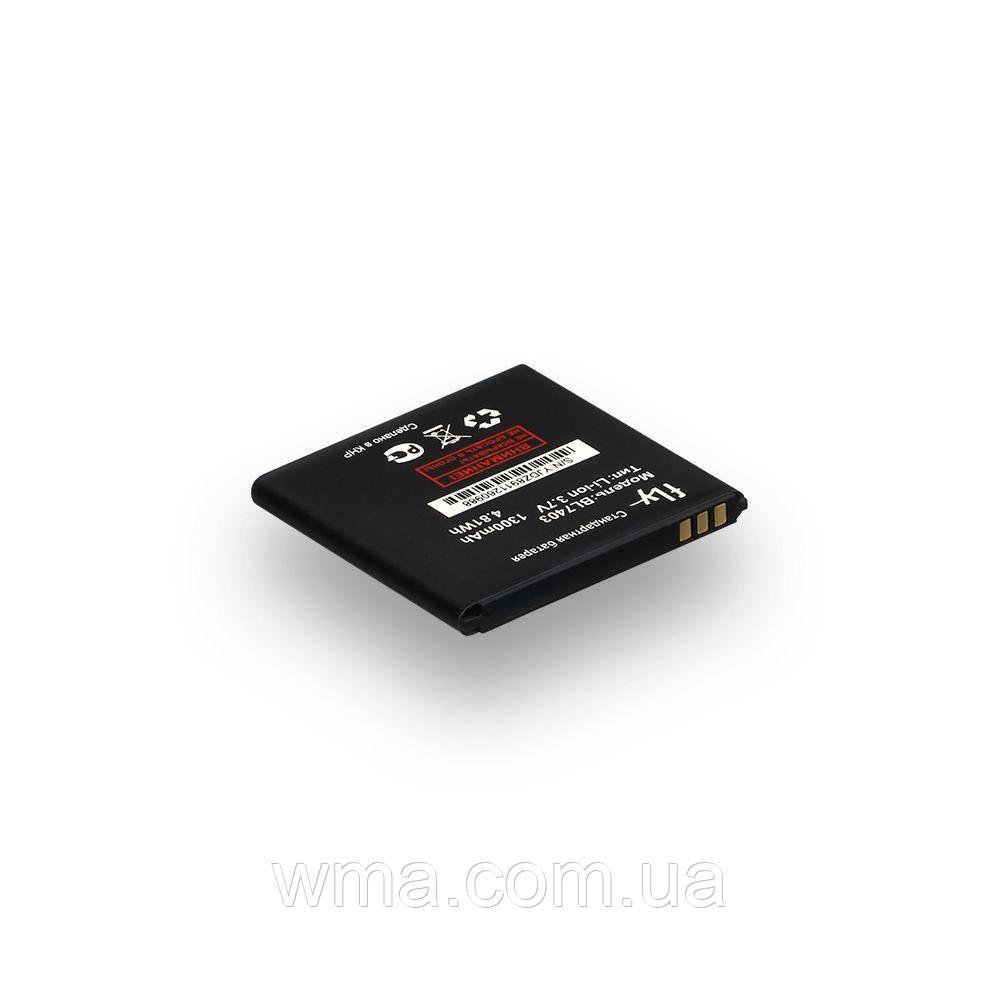 Аккумулятор для телефонов (батарея) Fly BL7403 / IQ431 Характеристики AAAA