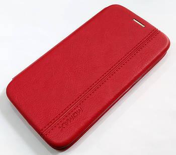 Чехол книжка Momax New для Samsung Galaxy J2 Core J260 Красный