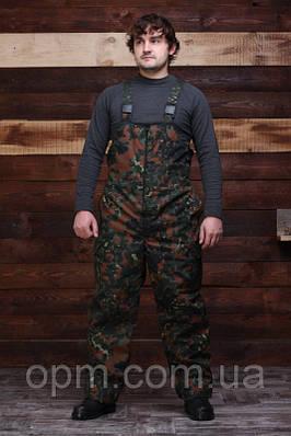 Зимние штаны Бундесвер,Флектарн с подтяжками полукомбинезоны