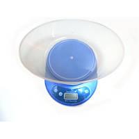 Кухонные электронные весы до 5кг KE-2 Blue, фото 1