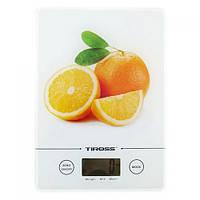Весы кухонные электронные Tiross TS-1301 Orange, фото 1