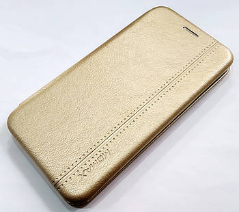 Чехол книжка Momax New для Samsung Galaxy A6s G6200 Золотистый