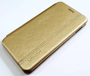 Чехол книжка Momax New для Samsung Galaxy S10e G970F Золотистый