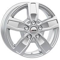Литые диски Autec Quantro R16 W6.5 PCD6x130 ET62 DIA84.1 (brilliant silver)