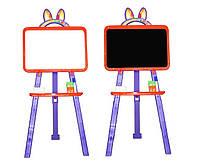 Доска для рисования магнитная 013777/5 оранжево-фиолетовый