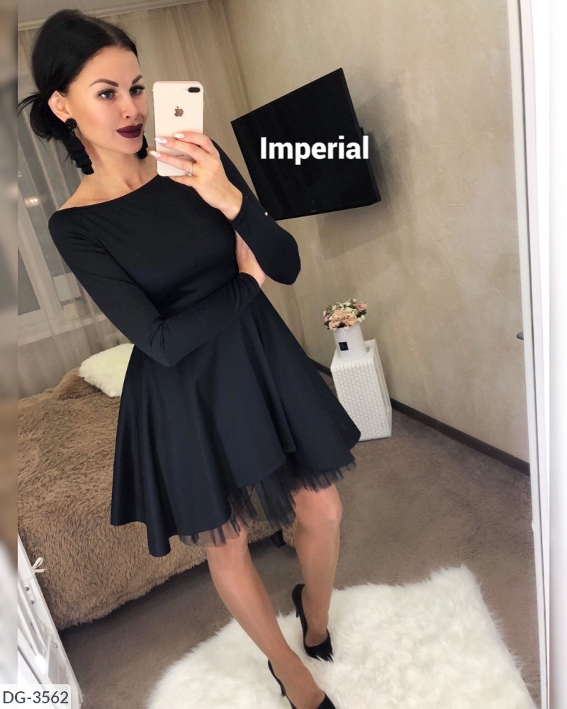 Платье женское стильное вечернее размеры 42 44 46 новинка 2019 много цветов