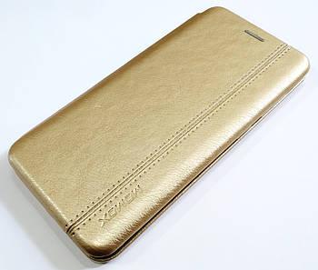 Чехол книжка Momax New для Samsung Galaxy A20 A205F/DS золотой