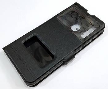 Чехол книжка с окошками momax для Samsung Galaxy A40 A405F