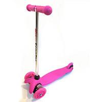 Трехколесный самокат Scooter 001/466-668 Pink, фото 1