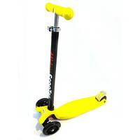 Четырехколесный самокат Scooter 003/466-667 Yellow, фото 1