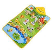 Развивающий музыкальный коврик для младенца 2963, фото 1