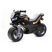 Детский Мотоцикл толокар Орион (черный). Популярный транспорт для детей от 2х лет