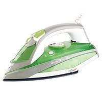 Утюг Maestro с керамической подошвой Белый с зеленым MR-303C FL-1066, КОД: 1334901