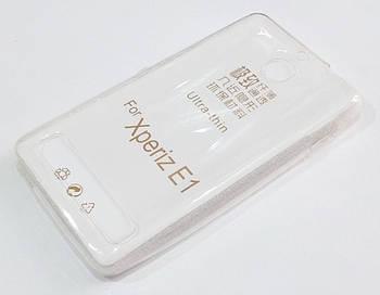 Чехол для Sony Xperia E1 d2005 / E1 dual d2105 силиконовый ультратонкий прозрачный