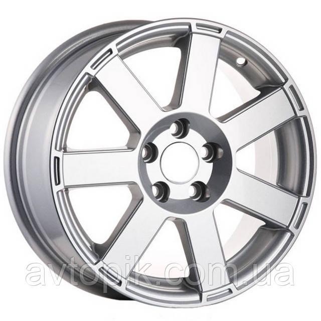Литые диски Angel Hornet R15 W6.5 PCD4x108 ET25 DIA67.1 (silver)