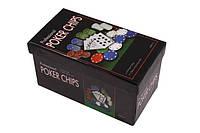 Набор для игры в покер Duke 60 фишке 1 колода карт CC4060, КОД: 119612
