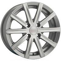 Литые диски Angel Baretta R13 W5.5 PCD4x108 ET30 DIA67.1 (silver)
