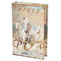 Книга-сейф Veronese Кони 26х17х5 см  0001-003, фото 1