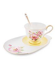 Чайный набор Pavone Пионы 3 предмета 1451462, фото 1