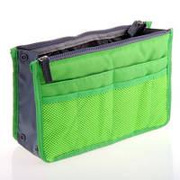 Органайзер для сумки сумка в сумке Light Green, фото 1