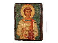Икона под старину Стефан, 13х17 см, 13х17 см