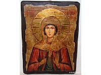 Икона под старину Стефанида, 13х17 см, 13х17 см