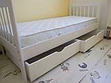 """Ліжко """"Медея"""" з ящиками (масив бука), фото 4"""