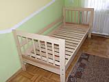 """Ліжко """"Медея"""" з ящиками (масив бука), фото 3"""