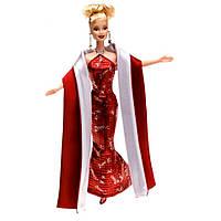 Коллекционная Игровая Кукла Барби Блондинка Праздничная 2000 года Barbie Doll