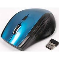 Беспроводная оптическая мышка мышь MR-309 Blue, фото 1