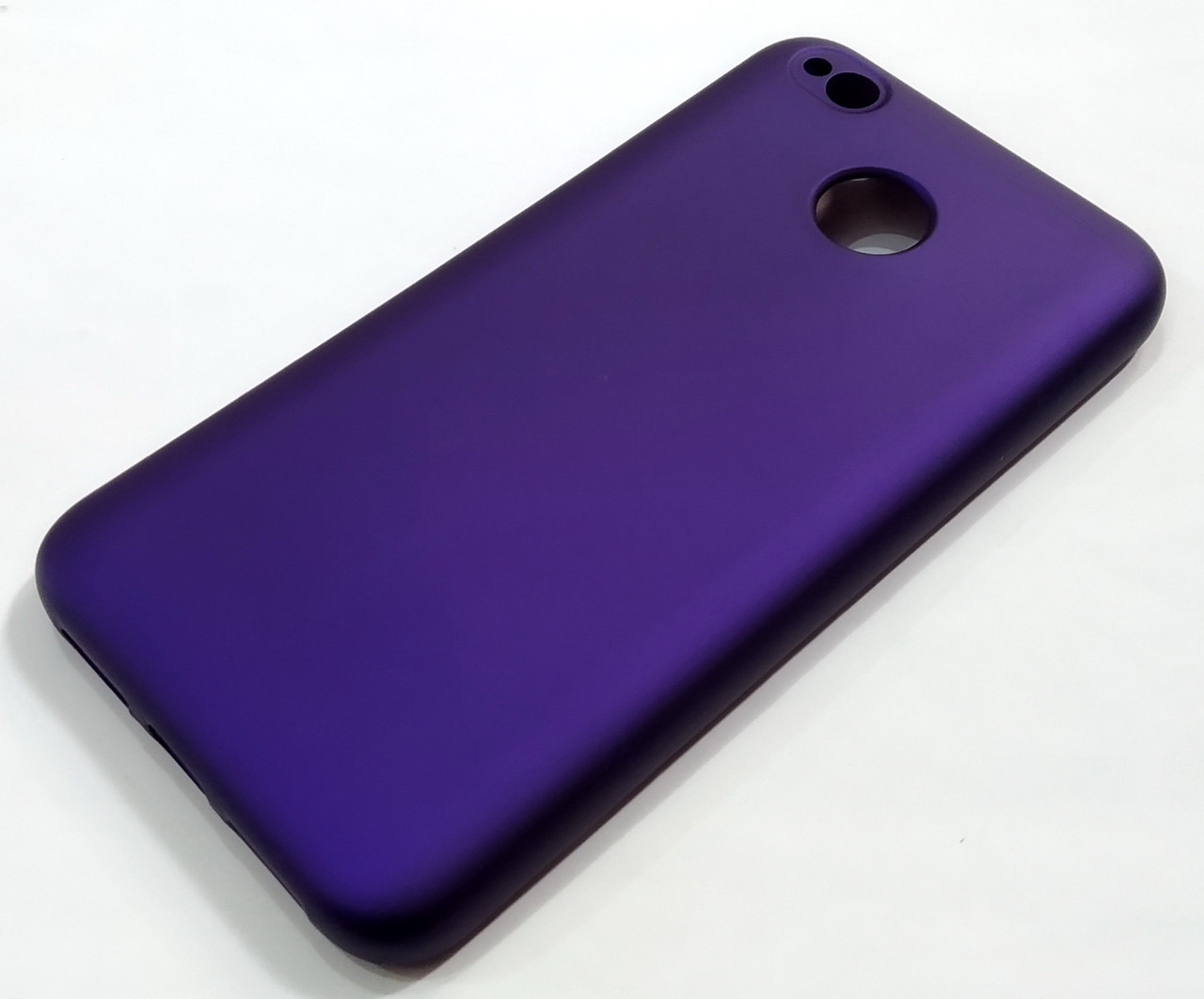 Чехол Silicone Cover для Xiaomi Redmi 4X фиолетовый