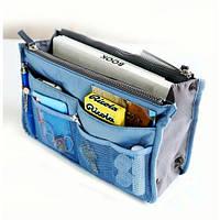 Органайзер для сумки сумка в сумке Blue, фото 1