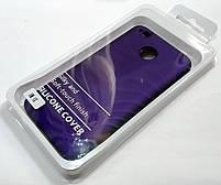 Чехол Silicone Cover для Xiaomi Redmi 4X фиолетовый, фото 3
