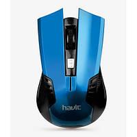 Беспроводная игровая мышь мышка Havit HVMS919 Blue