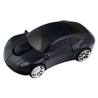Беспроводная мышка машинка мышь mouse-c Black, фото 1
